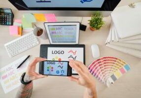 Create a professional logo for your blog